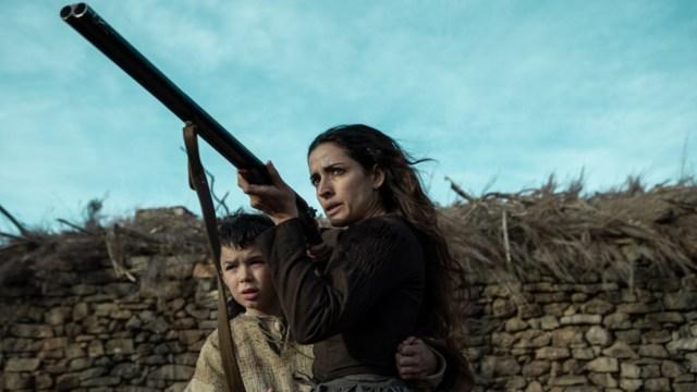 Inma Cuesta en 'El Páramo', de David Casademunt. Imagen para Especial Sitges 2021.