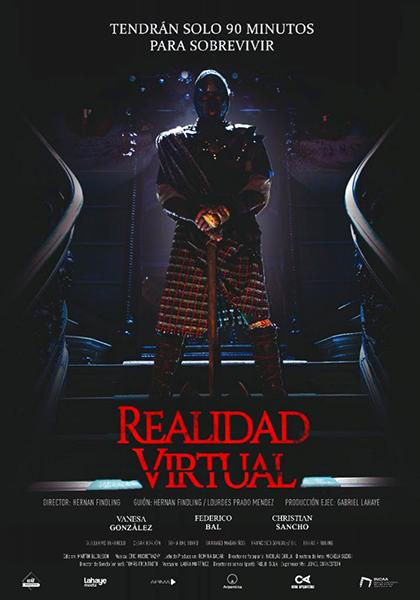 Poster de 'Realidad Virtual', de Hernán Findling. Line-up Sitges 2021