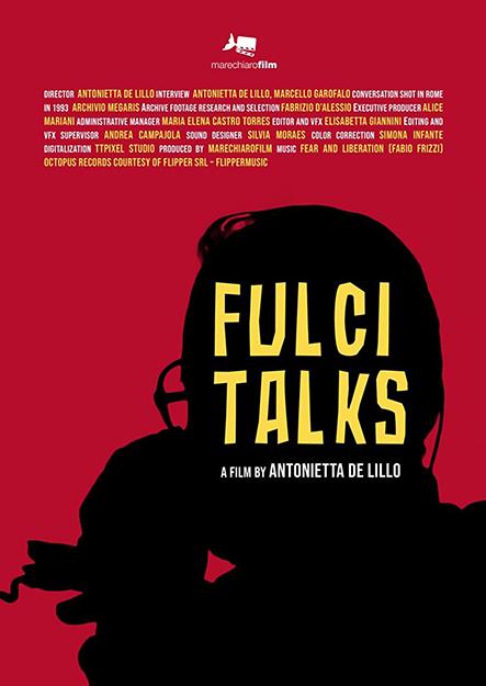 Poster 'Fulci Talks', documental para Sitges 2021.