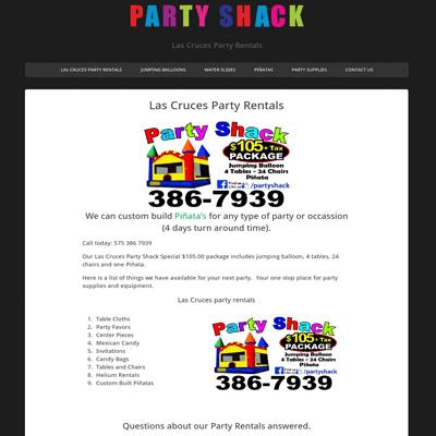 LasCrucesPartyShack.com