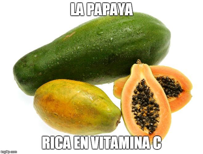 para el mal de parkinson la papaya