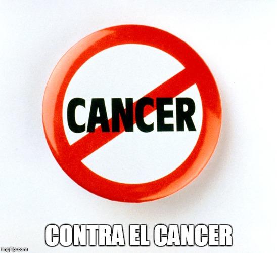 contra el cancer