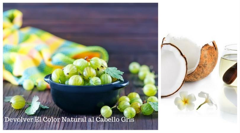 Devolver El Color Natural al Cabello Gris Con Estos Remedios Naturales