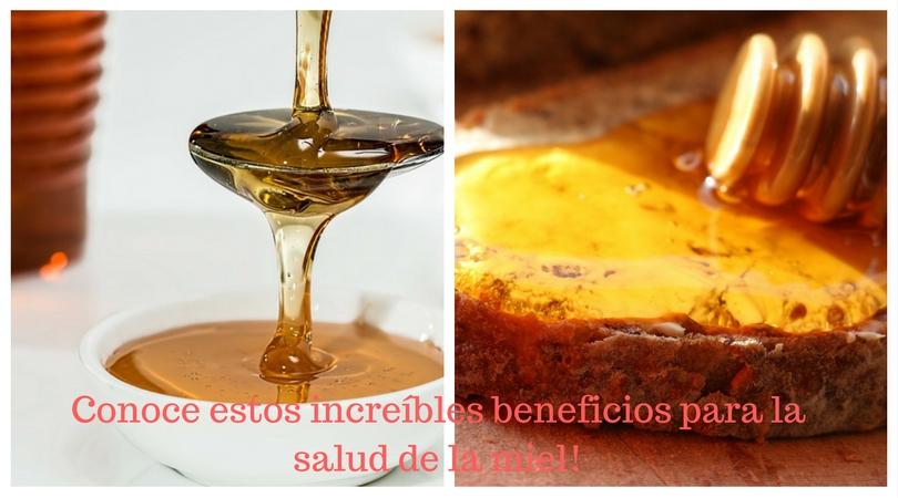 Conoce estos increíbles beneficios para la salud de la miel!