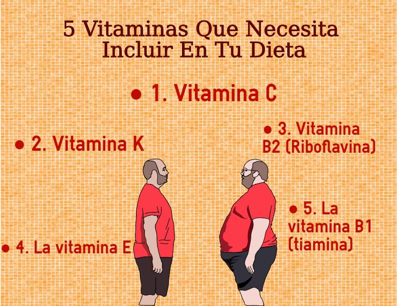5 vitaminas