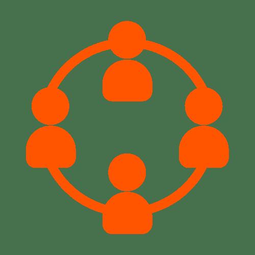 social community management icon