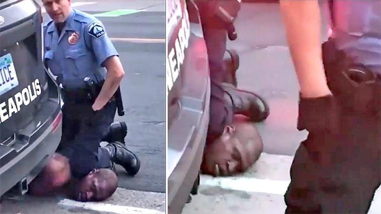 Protestas en Minneapolis tras muerte de afroamericano a manos de la policía / 4 Minneapolis cops fired after video shows one kneeling on neck of black man who later died
