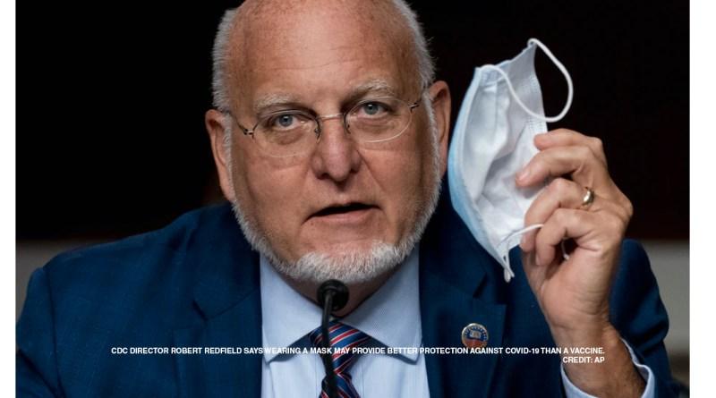 Por qué el tapabocas es lo más eficiente contra el COVID-19 hasta que llegue la vacuna /  CDC director says face masks may provide more protection than coronavirus vaccine