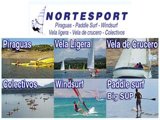 Piraguas, windsurf, vela, paddle cerca de Braojos