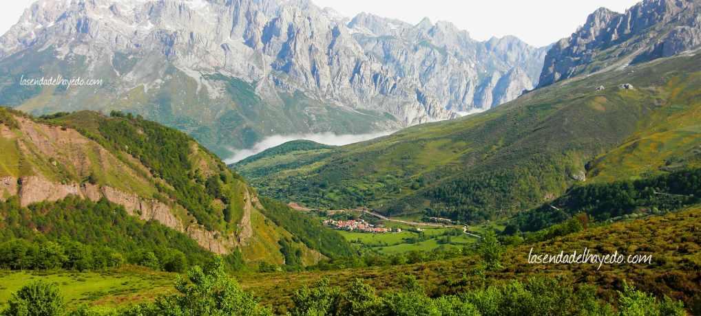 Valle de Valdeón desde Pandetrave
