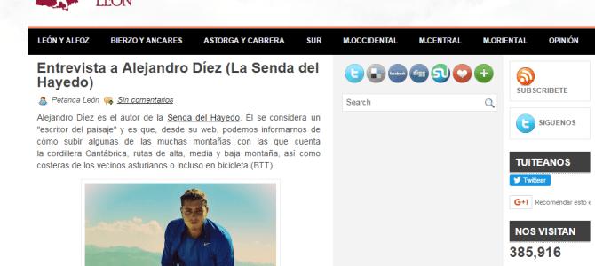 Entrevista en petancaleon.es