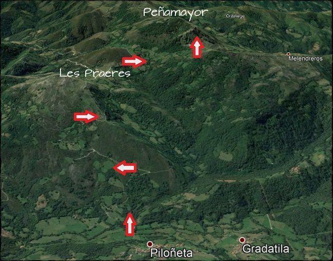 mapa peñamayor