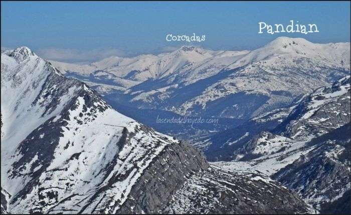 Hacia el norte (foto tomada en el mes de febrero)