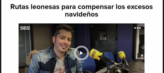 Cinco Rutas en Navidad (Entrevista en Radio León)