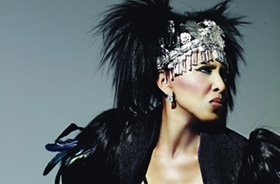 Singer, former member of LaBelle, Nona Hendryx (photo courtesy of PSWJF)