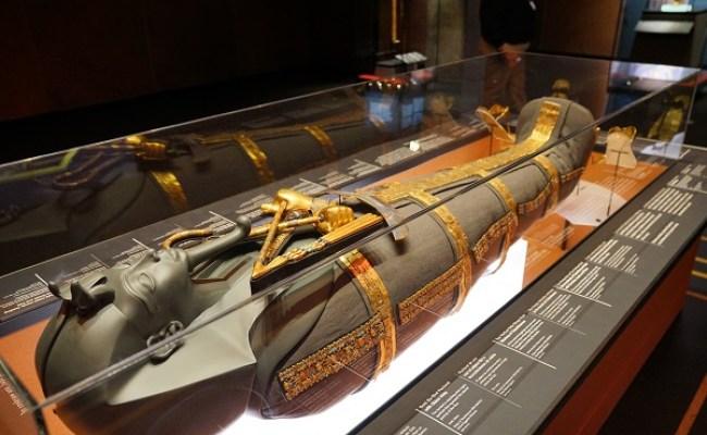 King Tut Treasures Of The Golden Pharaoh Los Angeles