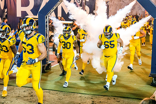 Image result for Los Angeles Rams Associated press