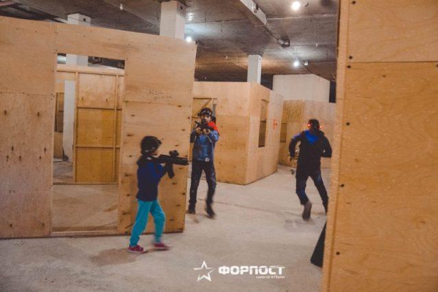 Лазертаг клуб Форпост в Перми