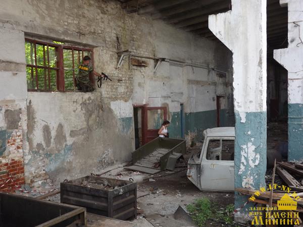 Лазертаг клуб им. Минина в Нижнем Новгороде