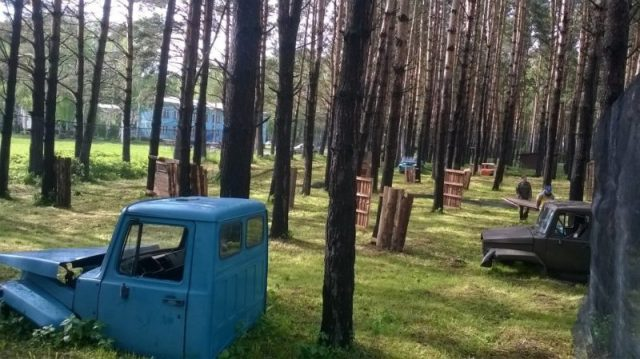 Лазертаг клуб Альфа в Новокузнецке