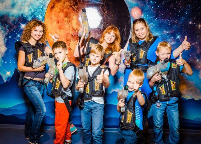 Лазертаг клуб Космик в Краснодаре
