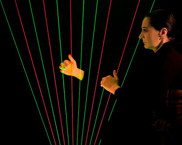 Laser Harp Beams