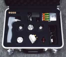 Laser 3000 in case with accessories