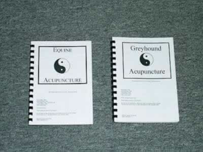 Equine and Greyhound Acupuncture Books