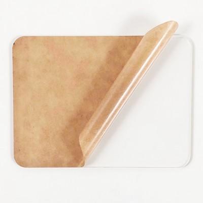 white acrylic sheet radius corners