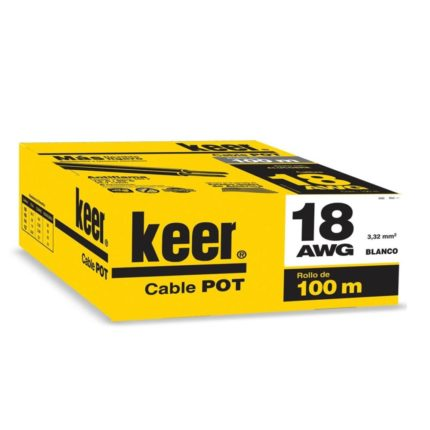 Cable POT 18 AWG Keer
