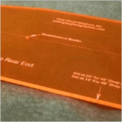 FLUORESCENT 3T19 Orange 3mm