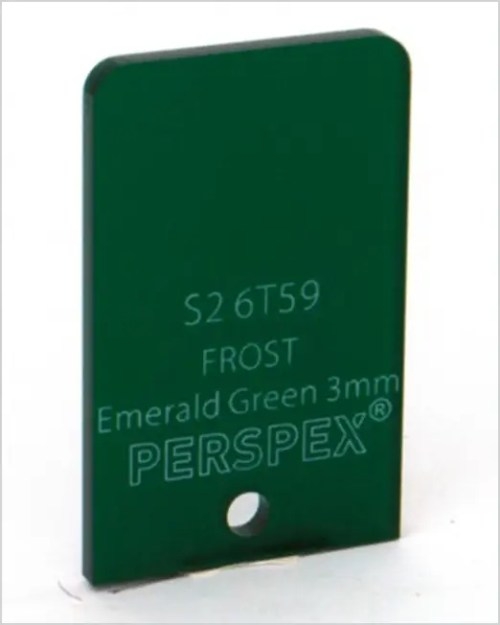 FROST S26T59 Emerald Green 3mm