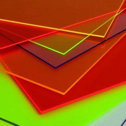 Fluorescent Acrylic Perspex Sheet