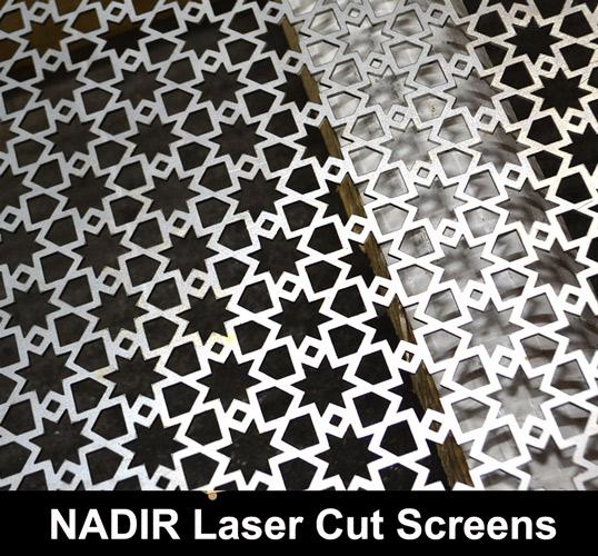 nadir laser cut metal