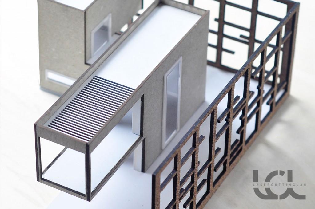Architectural Models  Laser Cutting Lab LLC