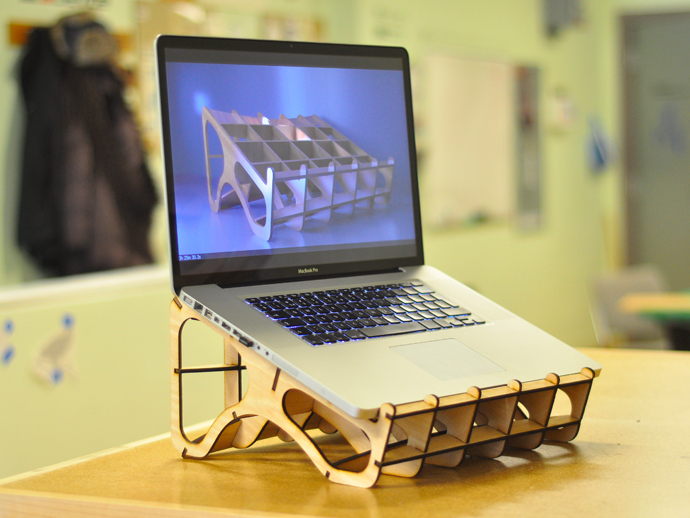 Laser Cut Laptop Stand  Laser Cutting Lab LLC