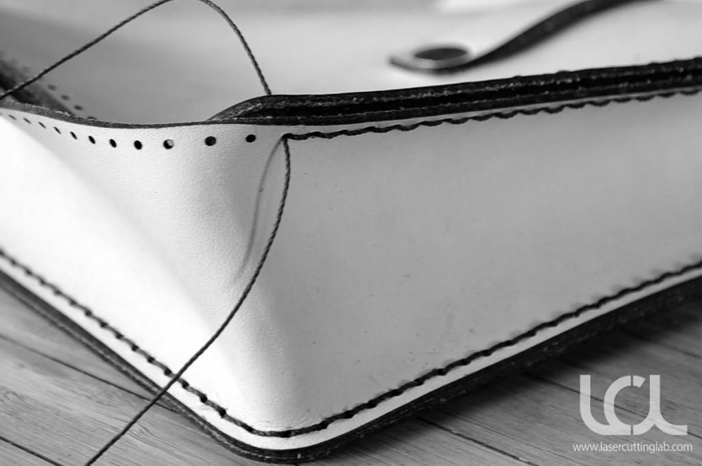 Leather Satchel Handbag  Laser Cutting Lab LLC