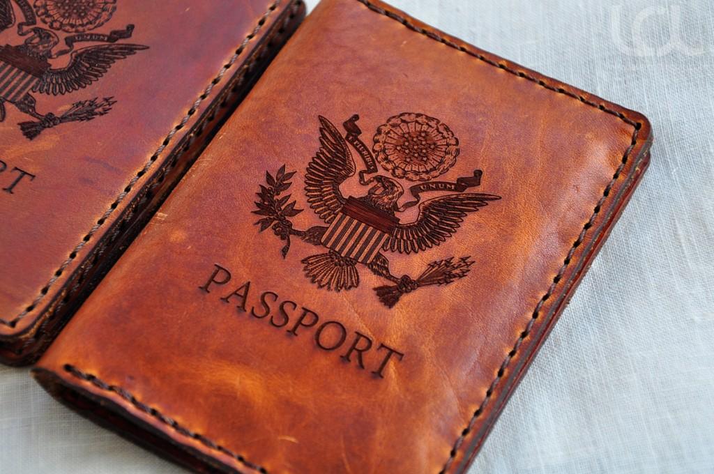 Laser Engraved Custom Passport Wallet  Laser Cutting Lab LLC