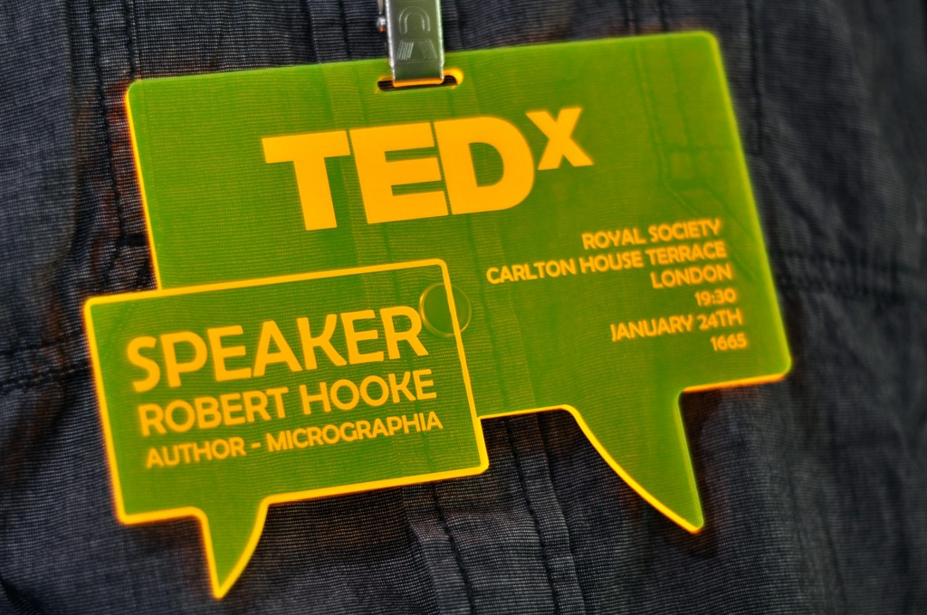 Custom Fluorescent Yellow Conference Badges