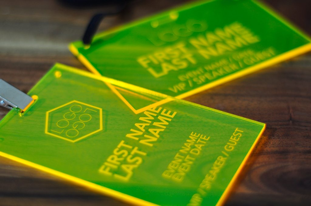 fluorescent light covers for kitchen island mobile laser engraved yellow conference and event ...