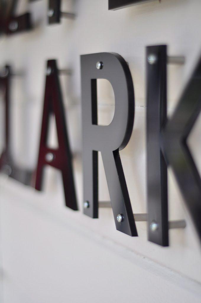 Laser Cut Letters 14 Black  Laser Cutting Lab LLC