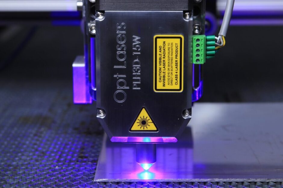 Do laser cutters emit radiation