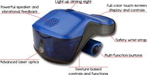 Features des Hero Blast Lasertag Systems