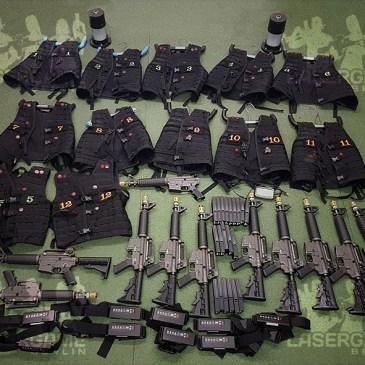 Erstmals gebrauchtes iCombat Tactical Equipment zu verkaufen