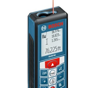 Bosch GLM 80 Lithium Ion Laser Distance Measure Review