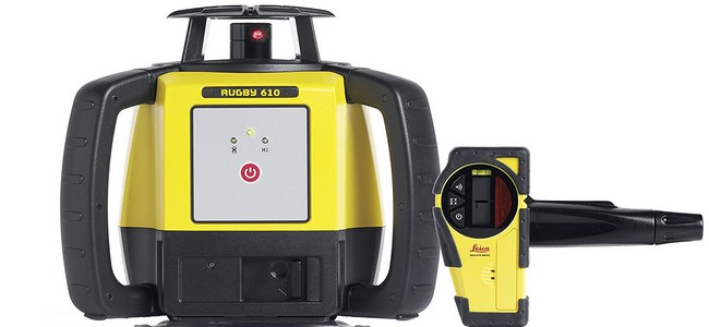 Leica Rugby 610 Self Leveling Rotating Laser Review