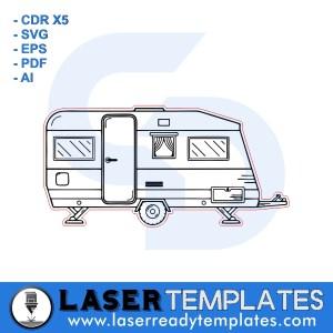 Caravan Camper Template