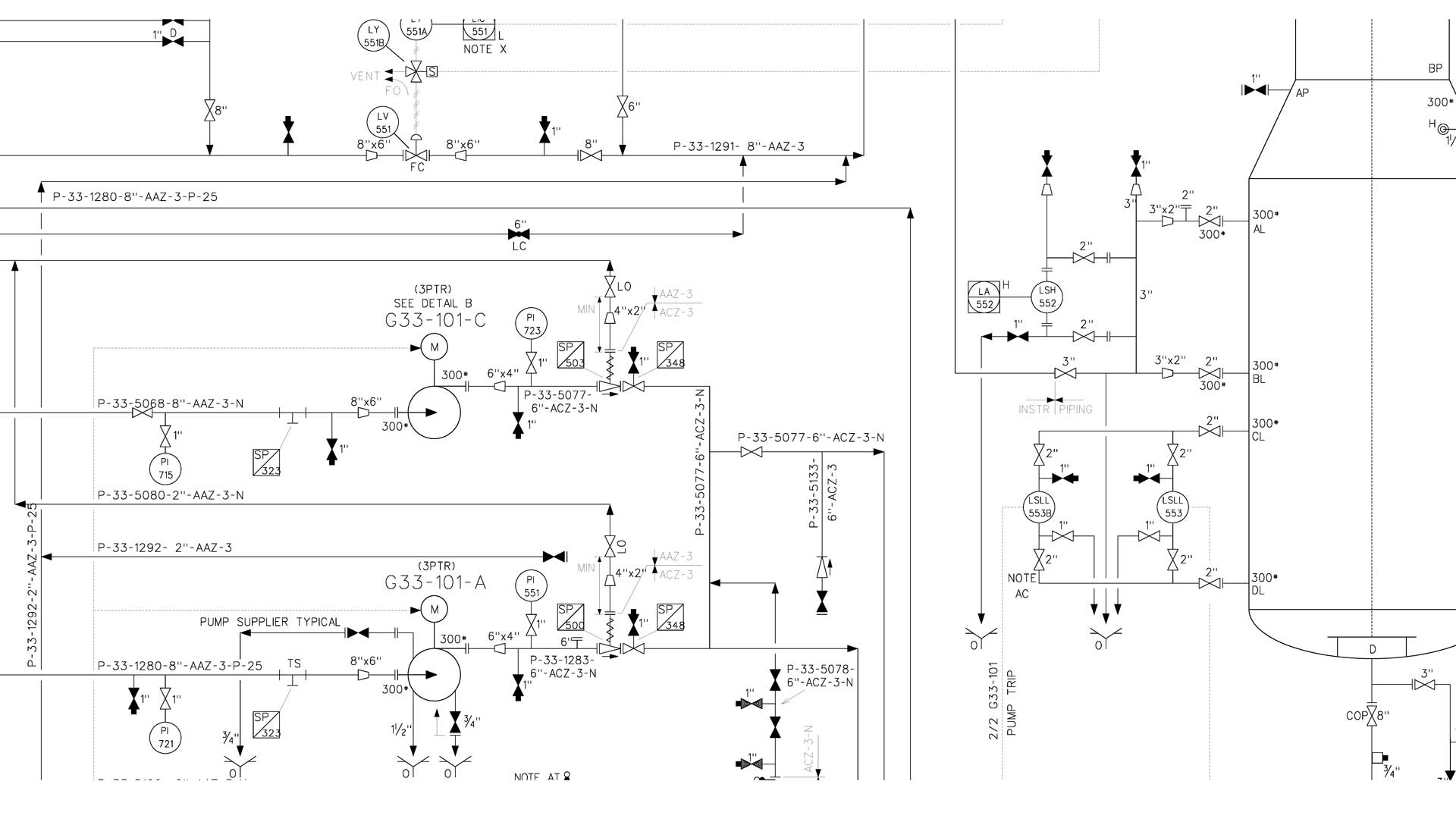 hight resolution of p id piping and instrumentation diagram