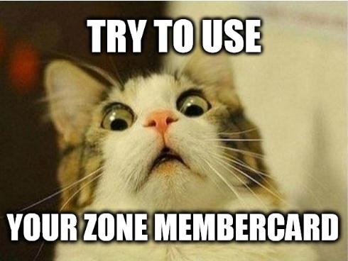 Lasertag Membercard