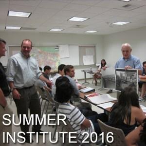 Summer Institute 2016